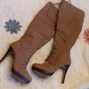 Shoe Dazzle High Heels boots